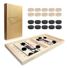 テーブルアイスホッケー テーブルゲーム チェス シンプル 実用 木製 戦略ゲーム 軽量 持ち運び ソーシャルアクティビティに最適 減圧おもちゃ