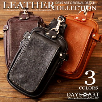 Hold a belt porch cowhide calfskin long wallet; large flip pocket leather bag leather hips bag bum-bag smartphone case iPhone6Plus-adaptive lb169