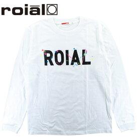 ROIAL ロイアル メンズTシャツ ロングスリーブ ブランドロゴ ドロッピング プリント サーフブランド 長袖 ロンT SKYE R903MLT03