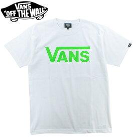 ヴァンズ メンズTシャツ クラシック ロゴ ユニセックス tee 半袖Tシャツ カジュアル バンズ T-Shirt VANS MT01A