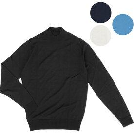 JOHN SMEDLEY ジョンスメドレー HARCOURT メンズモックタートルネックニット Extra Fine Merino Wool% ハーコート Mock Neck knit メンズ プレゼントにも最適