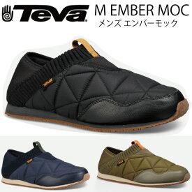 TEVA EMBER MOC 1018226 テバ メンズ エンバーモック BLACK アウトドアシューズ スリッポン スポーツ outdoor