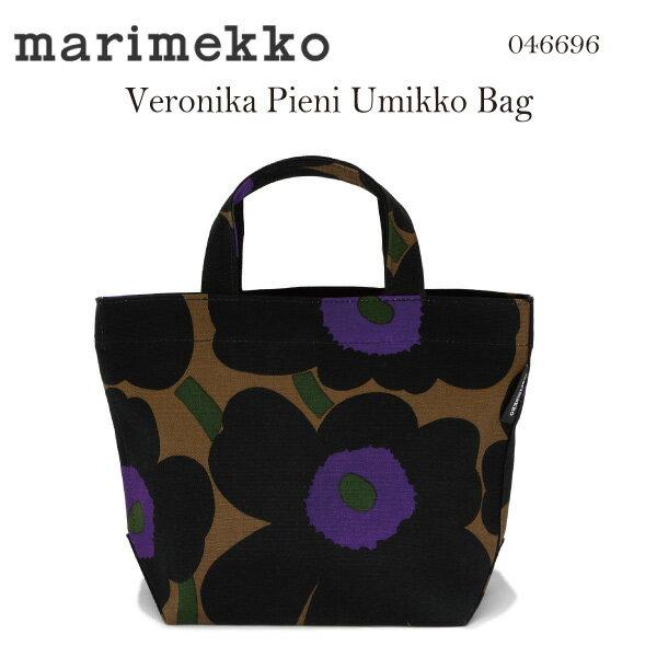 marimekkoマリメッコ ベロニカピエニウニッコ キャンバストートバッグ ハンドバッグ Veronika Pieni Mini Unikko handbag 046696 894
