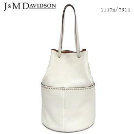 【J&M DAVIDSON】ジェイアンドエム デヴィッドソン デイジーウィズスタッズ DAISY WITH STUDS 1447n/7314 カーフレザー ショルダーバッグ トートバッグ おしゃれ 実用的 レディース プレゼントにも