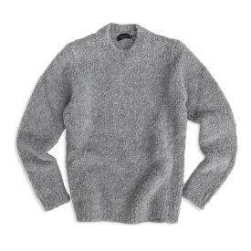 Roberto Collina ロベルトコリーナ2019-20秋冬 ウール×アルパカ メンズ クルーネックセーター mens RB52001 プレゼントにも最適