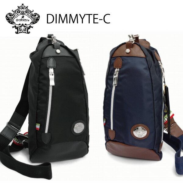 OROBIANCO オロビアンコ 即納 DIMMYTE-C ディマイテ リモンタ社製ナイロン&レザー ボディバッグ ウェストバッグ イタリア