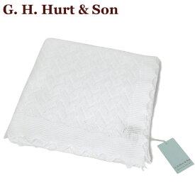 G.H.HURT & SON レーシーコットンベビーショール Lacy Cotton Baby Shawl C331X/54 おくるみ 王子 王妃 英国王室御用達 出産祝い プレゼント ギフト ジーエイチハートアンドサン