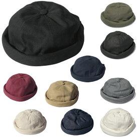 BETON CIRE ベトンシレ MIKI ミキ 帽子 キャップ コットン フィッシャーマンキャップ レザーストラップ ユニセックス メンズ レディース