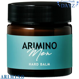 アリミノ メン ハードバーム 60g|ナチュラルタイプ|バーム|ヘアワックス|ヘアバーム|ヘアスタイリング剤|