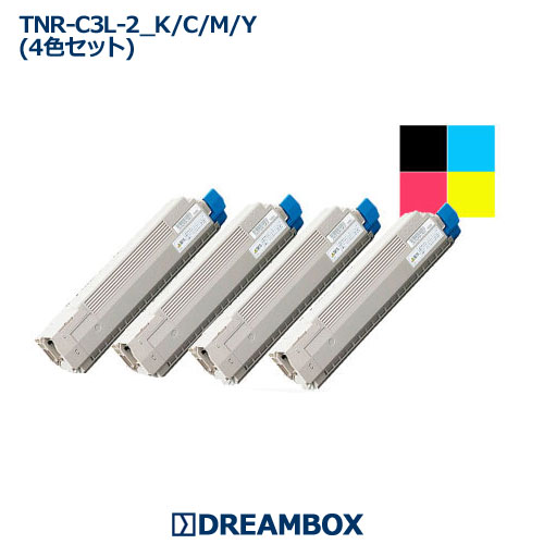 TNR-C3L トナー(4色セット) リサイクル C811dn,C811dn-T,C841dn,C841dn-PI, MC843dnw,MC863dnw,MC883dnw対応