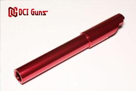 【送料無料】DCI Guns 東京マルイ M45A1/1911/MEU 用11mm 正ネジメタルアウターバレル RED エアガン エアーガン ガスガン ブローバック カスタム サバゲー サバイバルゲーム サバイバル グッズ パーツ サイレンサー トレーサー 赤 レッド
