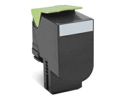 80C8SK0 808SK ブラック標準リターントナーカートリッジ 2,500枚 CX310/CX410/CX510用