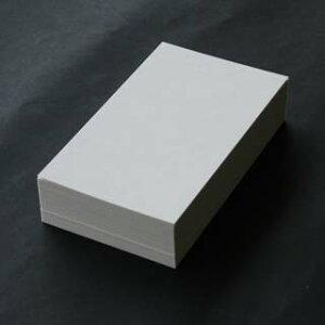 <メーカー在庫限り>FSC森林認証A4名刺用紙 プリンスCoC 10面付 0.196mm厚 (用紙220枚+ワンタッチ式名刺箱20個付)印字後、名刺カッター・裁断機にて裁断加工が必要。143010※レーザープリン