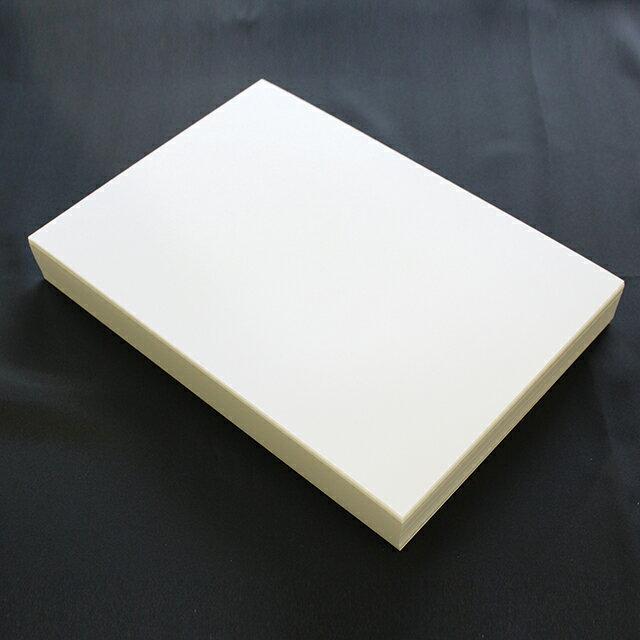 A4名刺用紙 FSC森林認証 名刺用紙 さくら ホワイトCoC 10面付 0.21mm 143023(用紙220枚+ワンタッチ式名刺箱20個付)印字後、名刺カッター・裁断機にて裁断加工が必要。※レーザープリンタ用です【代引き不可】