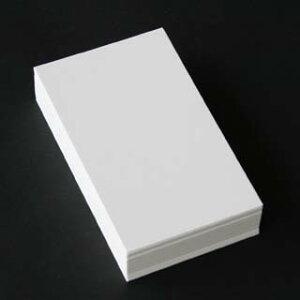 A4名刺用紙 再生クリーム 10面付 0.201mm厚 (用紙110枚+紙だけの窓付名刺箱10個付)印字後、名刺カッター・裁断機にて裁断加工が必要。143120※レーザープリンタ用です【代引き不可】