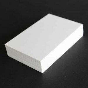 A4名刺用紙 クイーン 10面付 0.155mm厚 (用紙110枚+紙だけの窓付名刺箱10個付)印字後、名刺カッター・裁断機にて裁断加工が必要。143124※レーザープリンタ用です【代引き不可】