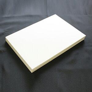 A4名刺用紙 FSC森林認証 名刺用紙 さくら ホワイトCoC 10面付 0.23mm 143128(用紙110枚+紙の窓付名刺箱10個付)印字後、名刺カッター・裁断機にて裁断加工が必要。※レーザープリンタ用です【代