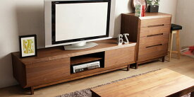 OPERA 180TVボード北欧 テイスト ミッドセンチュリー ナチュラル テレビ台 木製 AVボード ローボード テレビボード シンプル 国産 完成品 無垢 ウォールナット TV台 天然木 日本製 家具