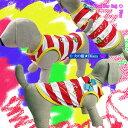 犬服 リボン付きタンクトップ★Super Crazy Cute★(大型犬用)【犬の服2点購入でメール便送料無料】ラグビー服 ラグビー日本代表 ドッグウェア