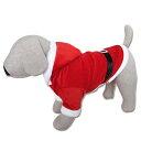 犬服 サンタ服(大型犬用)【犬の服2点購入でメール便送料無料】クリスマス サンタクロース 防寒着 ドッグウェア パー…
