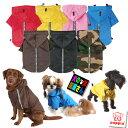 犬服 PUPPIA 反射テープ付き カラフルレインコート S M Lサイズ(小型犬用)【犬の服2点購入でメール便送料無料】パピ…