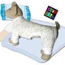 犬服 雲柄パジャマ ふんわりホワイト(小型犬・中型犬用)【犬の服2点購入でメール便送料無料】ドッグウェア ロンパー…