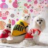 狗服PUWAN☆网丝短袖汗衫2016年新彩色(超小型的狗、猫事情)狗服装猫服装