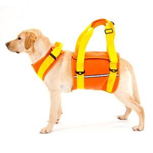 大型犬用歩行補助ハーネスララウォークネオプレーンオレンジLaLaWalk