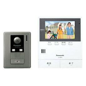 送料無料 パナソニック テレビドアホン モニター親機+広角カメラ玄関子機 約5型ワイド液晶 SDカード対応 動画録画機能付 VL-SE50KF