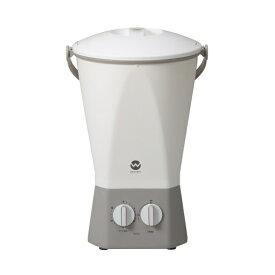 洗濯機 小型 ウォッシュボーイ TOM-12W シービージャパン バケツ型洗濯機 ホワイト 別洗い シューズ ランドリー 野菜洗い コンパクト 送料無料