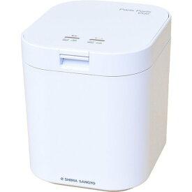 島産業 生ごみ減量乾燥機 パリパリキュー ホワイト PPC-11-WH