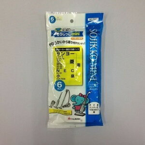 アイム 三菱・NEC・サンヨー・小泉用紙パック 6枚入りそうじっこ mini MC-T065