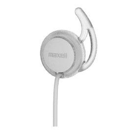 マクセル Bluetooth対応ワイヤレスカナル型ヘッドホン MXH-BTC14(WH)