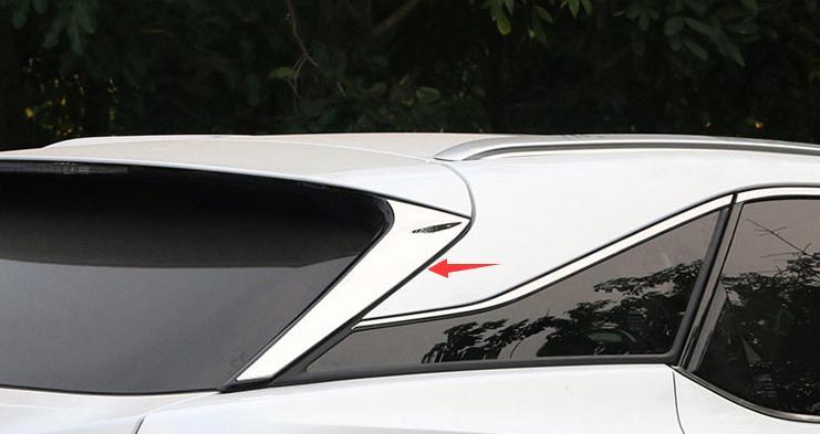 レクサス RX200t RX450h 新型 RX 20系 パーツ リア ウィング ガーニッシュ 左右 2Pセット 外装 エクステリア ドレスアップ カスタム LEXUS 新型 LEXUS RX DBA-AGL20W / DBA-AGL25W対応