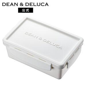 ランチボックス ホワイトS 420ml 完全密閉蓋 中仕切付きレンジ可 食洗器可 お弁当 ランチボックス 弁当箱 保存容器 キャニスター フードコンテナ ふた付き 新生活 ギフト