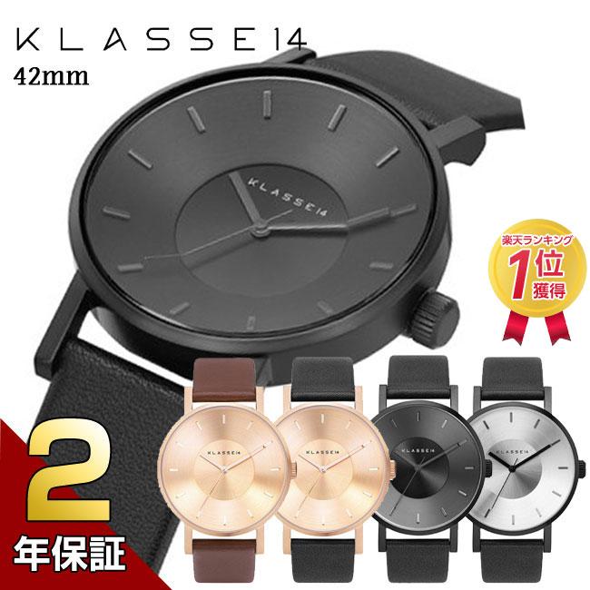 [2年保証]KLASSE14 クラス14 MARIO NOBILE VOLARE 腕時計 メンズ レディース 42mm レザーベルト ユニセックス プレゼント 母の日
