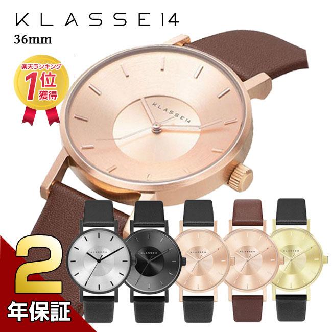 [2年保証]KLASSE14 クラス14 MARIO NOBILE VOLARE 腕時計 メンズ レディース 36mm レザーベルト ユニセックス プレゼント 母の日