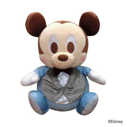 【送料無料】ディズニーウェイトドール【フォーマル】 1体ベビーミッキー  ベビーミニー【Disneyzone】【ウエイトドール】