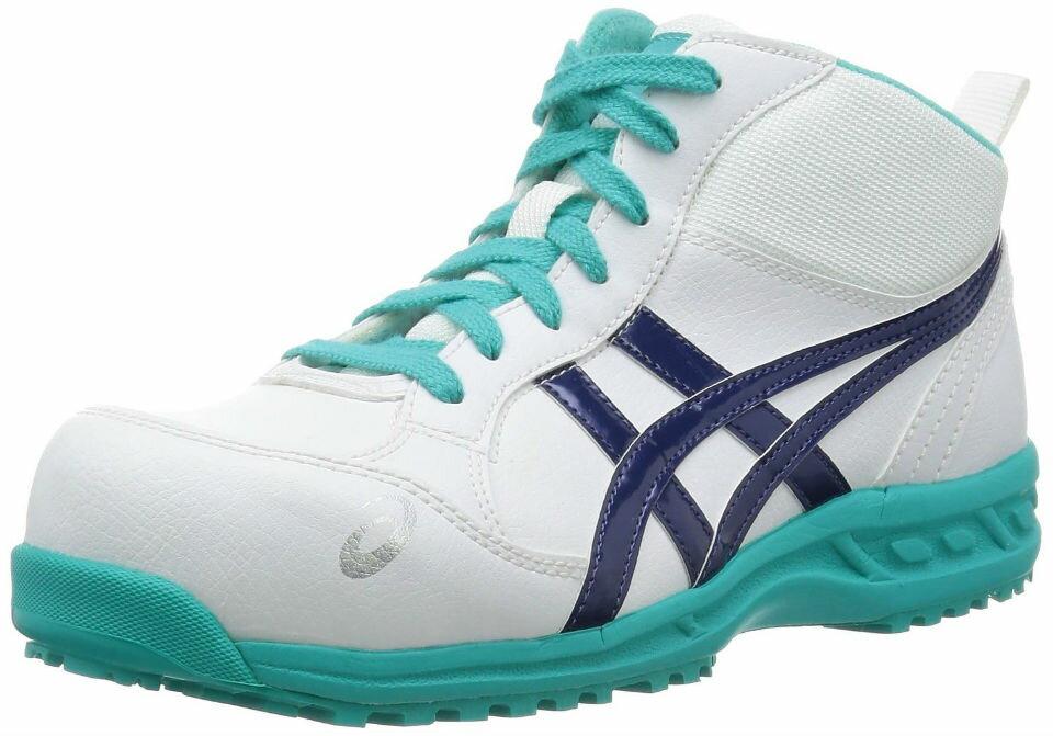 アシックス安全靴 FIS35L ウィンジョブ35L ハイカットタイプ(JSAA B種 樹脂先芯)【2017年6月製造終了 在庫限り】【2360039】