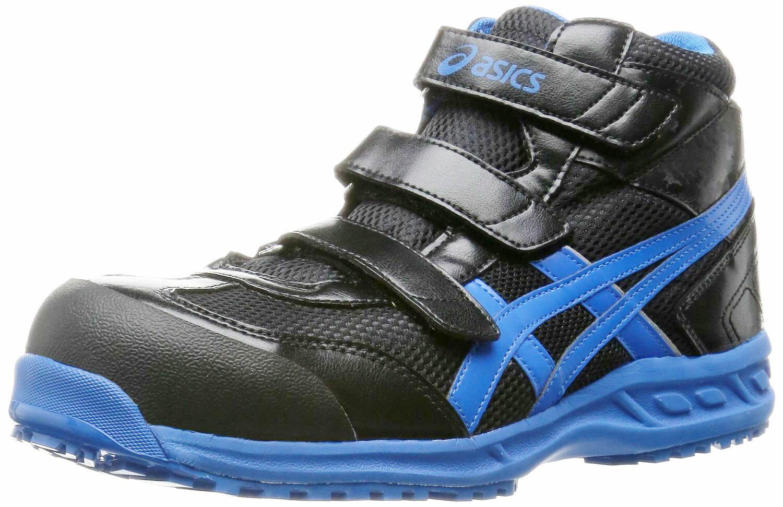 【2017年12月で販売終了在庫限り】アシックス安全靴スニーカー FIS42S ウィンジョブ42S ハイカット マジックテープ止めタイプ(JSAA A種 樹脂先芯)