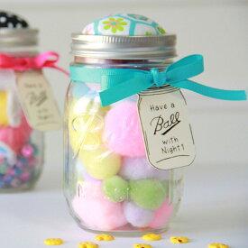 【約480ml】メイソンジャー Ball Mason jar みんな大好きメイソンジャー メイソンジャー ピンクッション 限定版 小物入れ 針山 裁縫 手芸 アメリカ直輸入