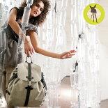 レッシグのマザーズバッグ、リュックサックタイプのグリーンバックパック・マザーバッグリュック、パパバッグ、イクメンリュック