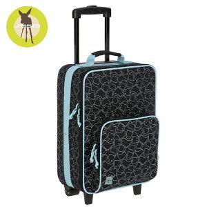 レッシグ 子供用キャリーバッグ(スーツケース キャリーケース 旅行バッグ) トローリー スプーキーブラック ソフトケース(ポリエステル) カラー(ピンク) 機内持込み 18リットル 18l 男の子 小