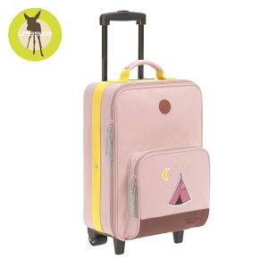 レッシグ 子供用キャリーバッグ(スーツケース キャリーケース 旅行バッグ) トローリー アドベンチャーティピ  ソフトケース(ポリエステル) カラー(ピンク) 機内持込み 18リットル 18l 旅行