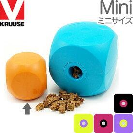 KRUUSE バスター ミニキューブ 約7.6cm角 体重目安10kg以下 クルーズ 犬用おもちゃ 知育トイ おやつが入る 輸入商品