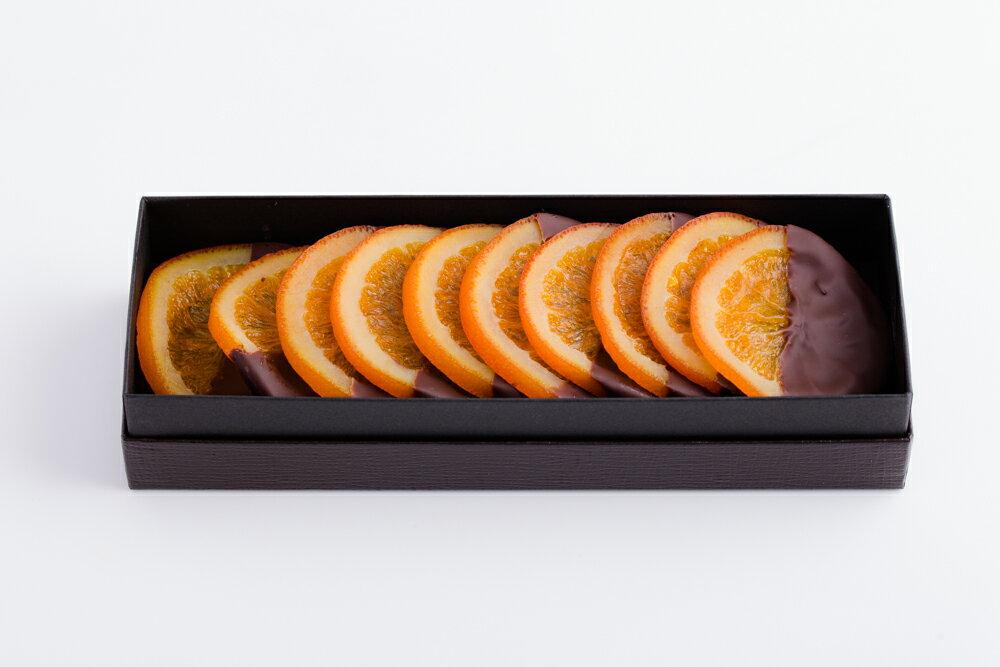 バレンシア10枚入り◆ スペイン産バレンシアオレンジとビターチョコレートのほろ苦いマリアージュ
