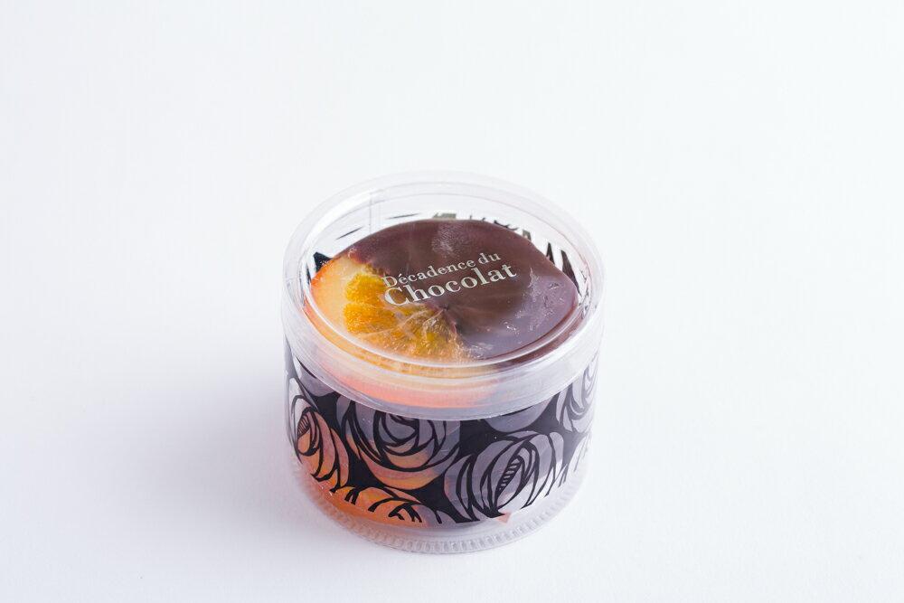 バレンシア7枚入り◆スペイン産バレンシアオレンジとビターチョコレートのほろ苦いマリアージュ