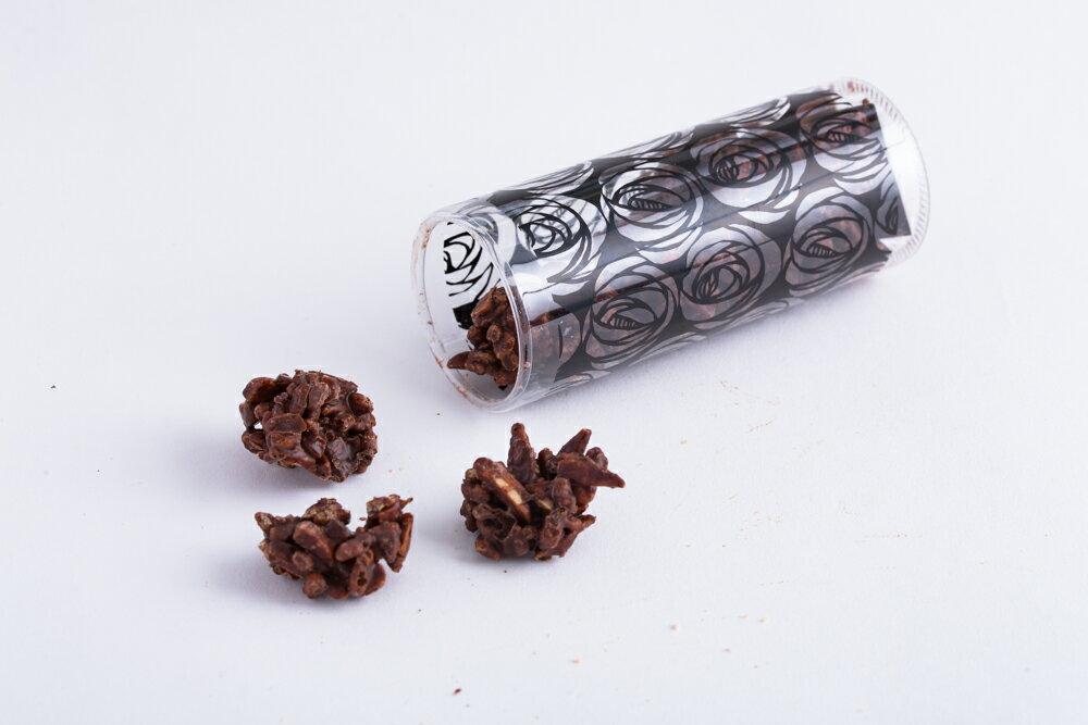 ロッシェ ノワール◆アーモンドとビターチョコレートのカジュアルショコラ♪
