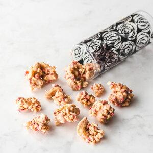 ロッシェブランシュ◆白い岩のようなフォルムで味は甘酸っぱいDecadence du Chocolatのカジュアルショコラ。おまとめ買いに選ばれています。