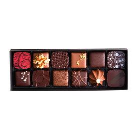 ボンボンショコラ(12個入り)全24種類のハーフサイズ。ギフトとして選ばれています。